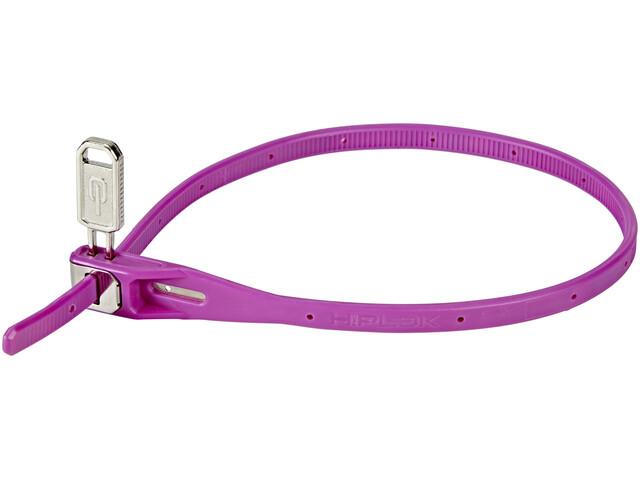 Hiplok Z-Lok Kabelbinderschloss 40cm purple